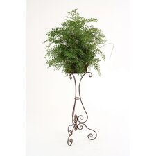 Silk Smilax Floor Plant in Planter