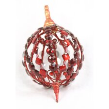 Bejeweled Oval Ornament