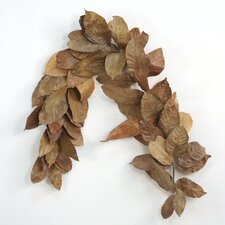 Natural Magnolia Leaves Garland (Set of 6)