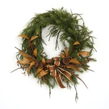 "<strong>Distinctive Designs</strong> 36"" Artificial Pine Wreath"