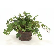 <strong>Distinctive Designs</strong> Silk Mountain Ivy Floor Plant in Planter