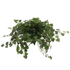 <strong>Distinctive Designs</strong> Topper with Silk Swedish Ivy Hanging Plant in Planter