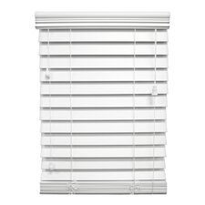 "<strong>Wildon Home ®</strong> Faux Premium Wood Blind - 72"" H"