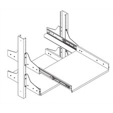Sliding Equipment Shelf