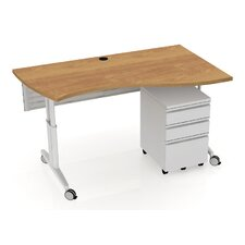 MyOffice Vinton Wave Teacher Desk