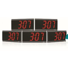 Power Over Ethernet Digital Wall Clock