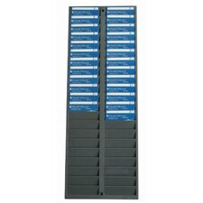 40 Capacity ID Badge Rack