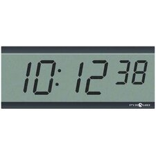 "3"" 6 Digit LCD Wireless Battery Powered Clock"