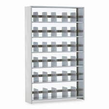"<strong>Tennsco Corp.</strong> Snap-Together Open Shelving Steel 6-Shelf Closed Starter Set, 48"" Wide"