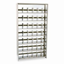 "<strong>Tennsco Corp.</strong> Snap-Together Open Shelving Steel 7-Shelf Closed Starter Set, 48"" Wide"