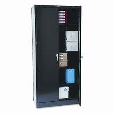 """Tennsco 78"""" High Deluxe Steel 39"""" Storage Cabinet"""