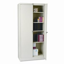 "Tennsco 78"" High Deluxe Steel 39"" Storage Cabinet"