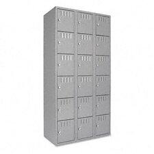 6 Tier 3 Wide Box Locker