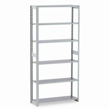 "Regal Shelving Add-On Unit, 6 Shelves, 12"" Length"