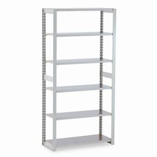 "<strong>Tennsco Corp.</strong> Regal Shelving Add-On Unit, 6 Shelves, 15"" Length"