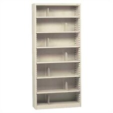 "KD 84"" H Seven Deep Shelf Bookcase"
