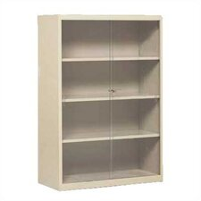 "Executive 52"" H Four Shelf Bookcase"