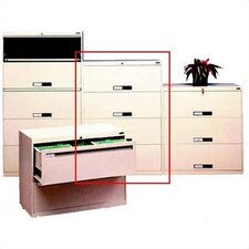 <strong>Tennsco Corp.</strong> Lateral File With 4 Drawers and Fixed Drawer Fronts