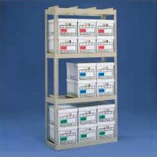 <strong>Tennsco Corp.</strong> Archive Box Storage Rack With Angle Box Supports