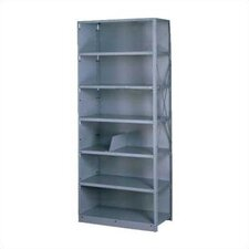 "Q Line Closed 87"" H 7 Shelf Shelving Unit Starter"