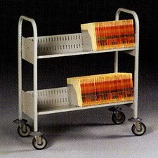 <strong>Tennsco Corp.</strong> Filing Cart, 4 Shelves