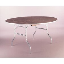 <strong>Maywood Furniture</strong> Standard Series Plywood  Round Folding Banquet Table