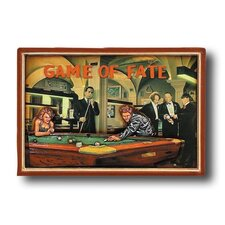 Game Room 'Game of Fate' Framed Vintage Advertisement