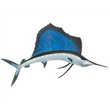 3D Outdoor Wall-Mounted Sailfish