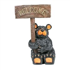 """Welcome"" Bear Statue"