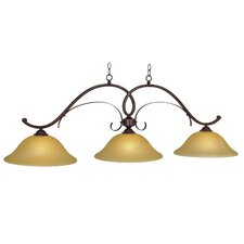 Hawthorn 3 Light Billiard Light