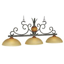 Regatta 3 Light Billiard Light