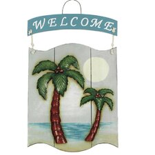 """Welcome"" Palms Sign"