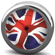 Union Jack Alloy Desire Alarm Wall Clock