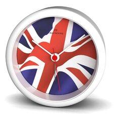 Union Jack Acrylic Alarm Clock