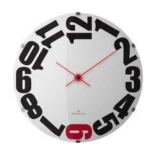 Super Curved Glass Wall Clock