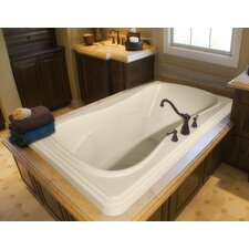 "<strong>Hydro Systems</strong> Designer Jennifer 72"" x 48"" Air Tub with Thermal System"