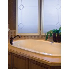 "Designer Liliana 66"" x 42"" Air Tub with Thermal System"