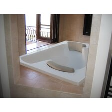 "Designer Penthouse 72"" x 60"" Air Tub with Thermal System"