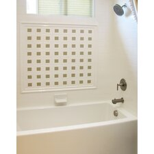 "Designer 72"" x 40"" Sydney Bathtub with Combo System"