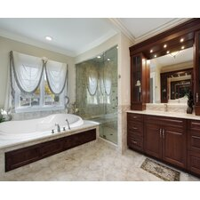 "Designer 72"" x 42"" Vanessa Bathtub with Whirlpool System"