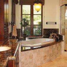 "Designer 77"" x 44"" Savannah Bathtub with Whirlpool System"