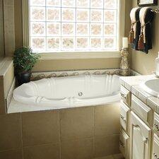 "Designer Alyssa 66"" x 42"" Whirlpool Tub"