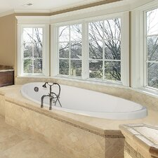 """Designer Carli 60"""" x 36"""" Whirlpool Tub with Combo System"""