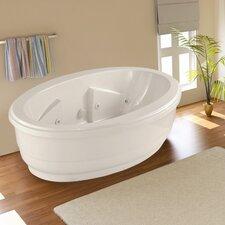 """Designer Nina 72"""" x 44"""" Whirlpool Tub"""