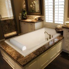 "Designer 70"" x 43"" Regal Bathtub with Combo System"