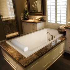 "Designer 70"" x 43"" Regal Bathtub with Whirlpool System"
