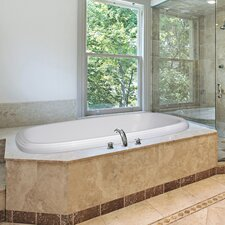 "Designer 60"" x 38"" Sylvia Bathtub with Combo System"