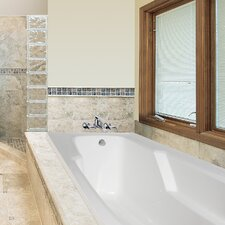 """Designer Entre 66"""" x 32"""" Whirlpool Tub with Combo System"""