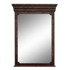 Milltown Framed Mirror with Shelf