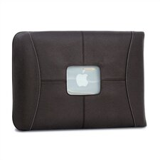 "13"" Premium Leather MacBook Sleeve in Chocolate"